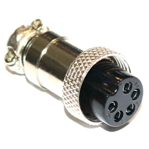 Mikrofonstecker / Buchse 5-polig