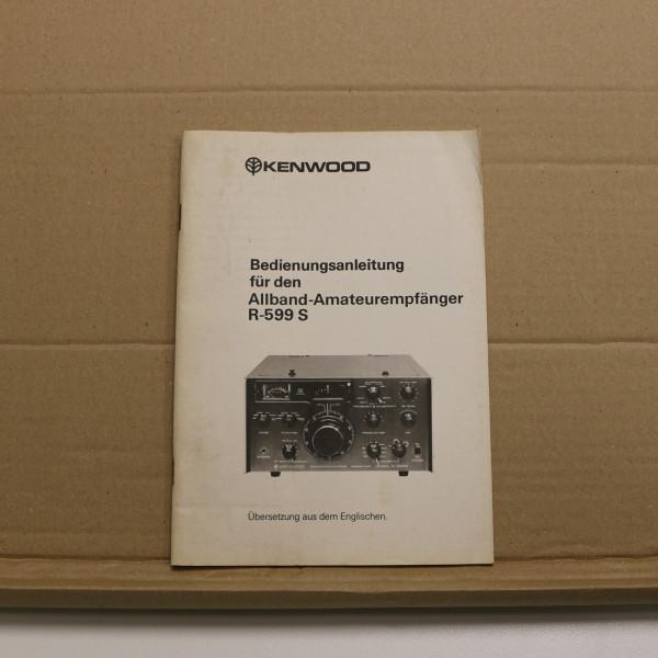 Kenwood R-599 S Bedienungsanleitung