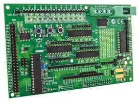 GERTBOARD - Tochterplatine, GPIO-Erweiterungsboard, für Raspberry Pi, A/D- & D/A-Wandler, Motorsteu