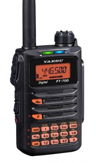 Yaesu FT-70DE 2m/70cm FM und C4FM
