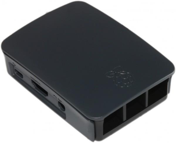 offizielles Raspberry Pi 3 Gehäuse in schwarz