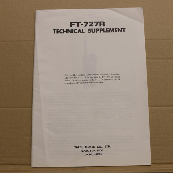 Yaesu FT-727R Technical Supplement
