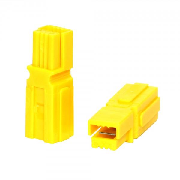 Anderson PowerPole® Gehäuse gelb mit Fingerschutz
