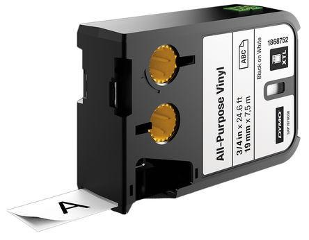DYMO XTL Industrielle Vinylklebebänder 1868752 schwarz für XTL 300 XTL 500