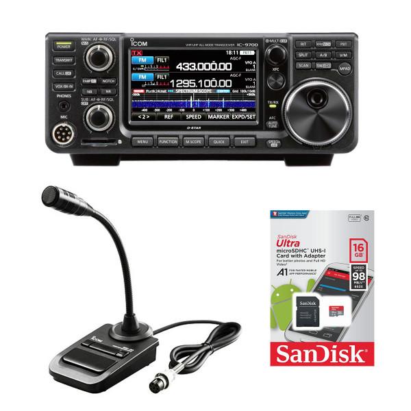Icom IC-9700 SDR-Transceiver für UKW + gratis SM-30