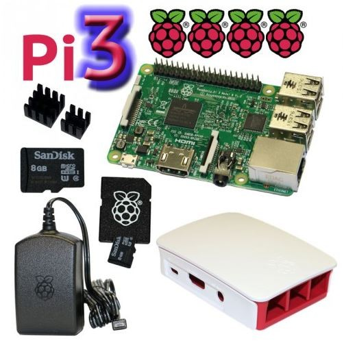 "RPi3 - Bundle ""M"" 8GB"
