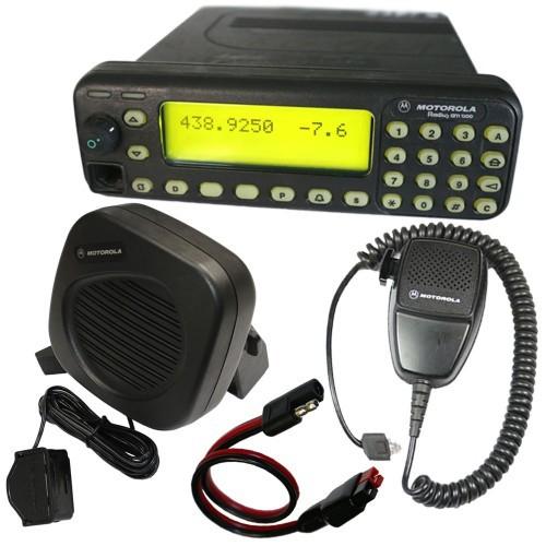 Motorola MC 2100 (Radius GM1200) 70cm Amateurfunkgerät mit Zubehör