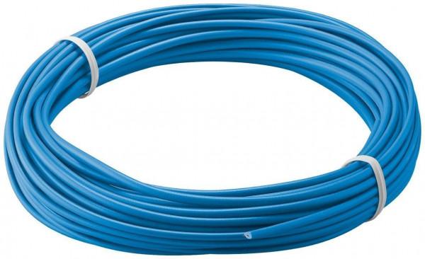 Kupferlitze isoliert blau 10m