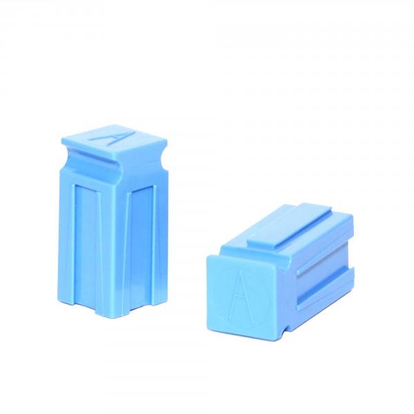 Anderson PowerPole® Abstandshalter / Spacer kurz blau