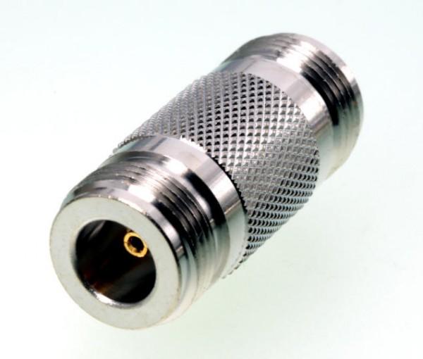N-Verbinder / Adapter (N-Buchse / N-Buchse)