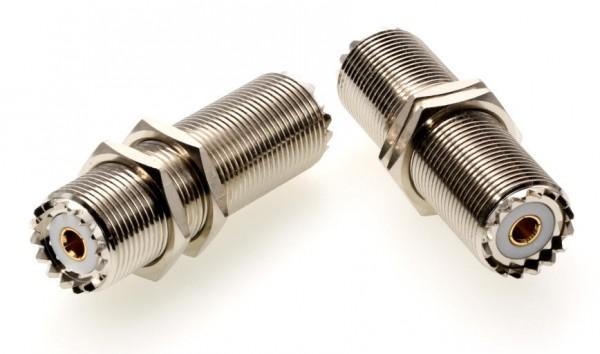 Adapter UHF-Buchse / UHF-Buchse