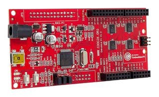 EMBEDDED PI - Evaluationsboard, Embedded Pi, Triple-Play-Plattform für Raspberry Pi/Arduino™/32-Bit
