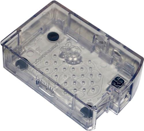 Gehäuse transparent, für Raspberry Pi A/B