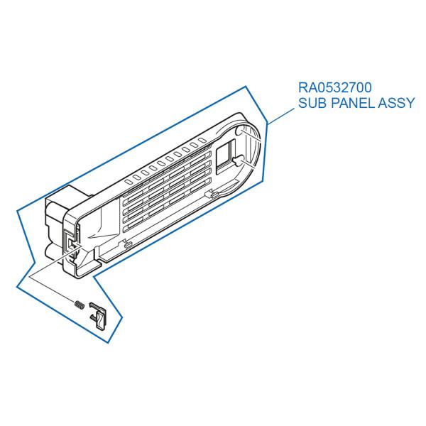 Yaesu Sub Panel Assy FT-857