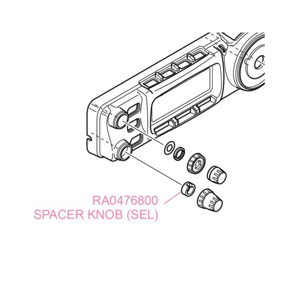 YAESU SPACER KNOB (SEL) FT-857