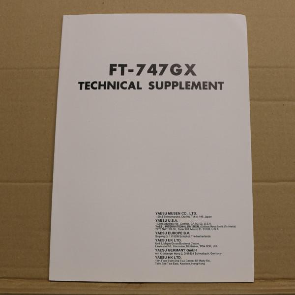 Yaesu FT-747GX Technical Supplement