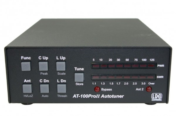LDG AT-100-PRO-II automatic Antennentuner KW+6m