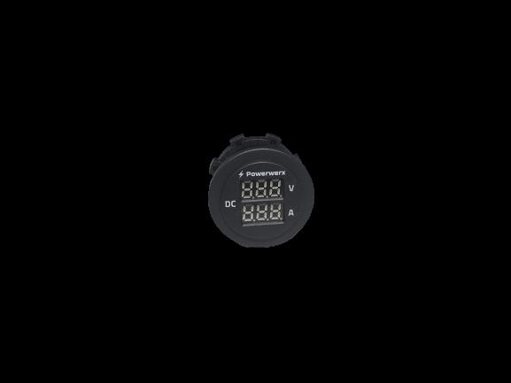 Panelmount Ampere/Voltmeter