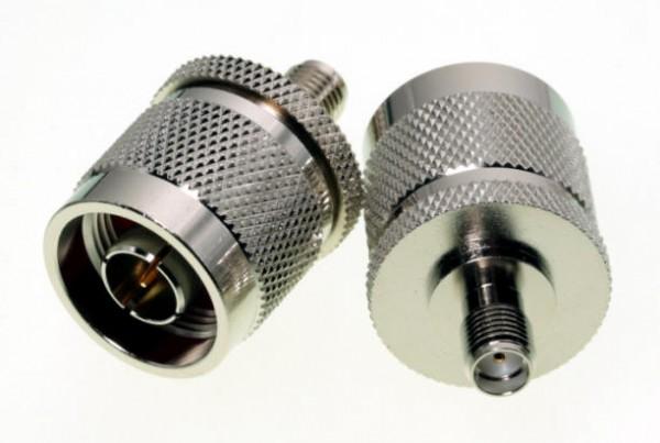 Adapter SMA-Buchse / N-Stecker