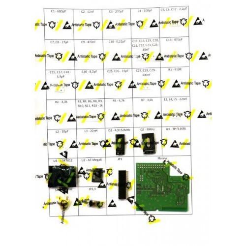 RasPager Funkrufsender ADF7012-Board