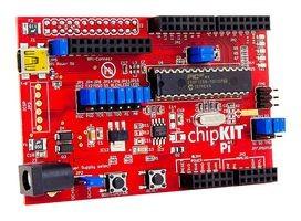 CHIPKIT PI - Entwicklungsboard, PIC32-Mikrocontroller, Raspberry Pi- & Arduino-kompatibel