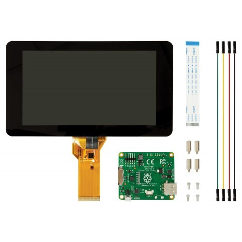 "Raspberry Pi Display 7"" mit Touchscreen"