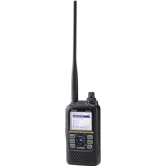 Icom ID-51E Plus2 2m/70cm D-Star Handfunkgerät + OPC-2350LU