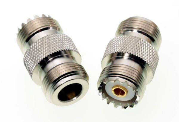 Adapter N-Buchse / PL-Buchse
