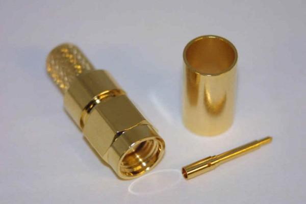 SMA-Stecker (zum crimpen) für H155 u.a.