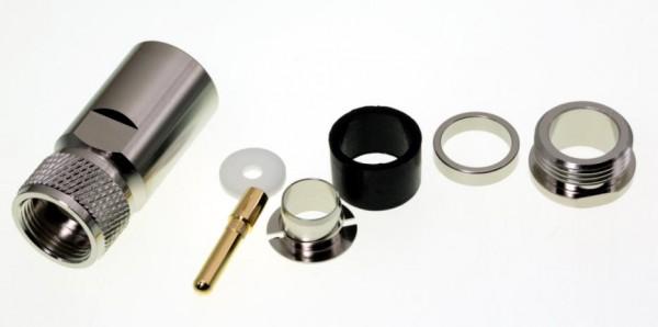 PL/UHF Spezial 13 Stecker für 13mm Kabel Hyperflexx 13