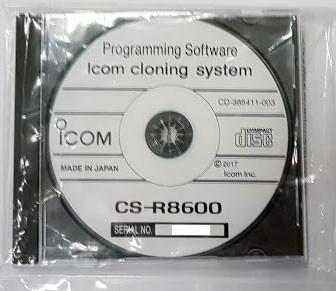 Icom CS-R8600 Programmiersoftware für IC-R8600