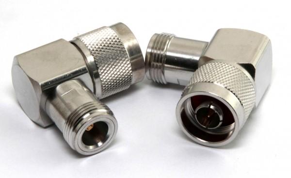 Adapter N-Buchse / N-Stecker 90 Grad Winkel