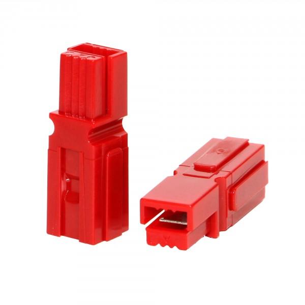 Anderson PowerPole® Gehäuse rot mit Fingerschutz