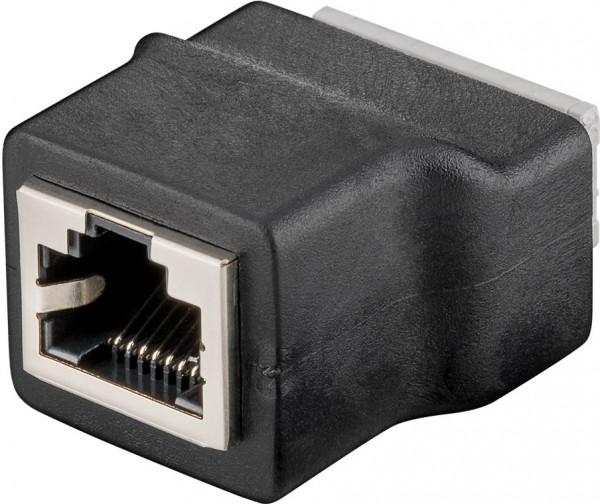 Terminal Block 8-pin > RJ45-Buchse (8P8C)