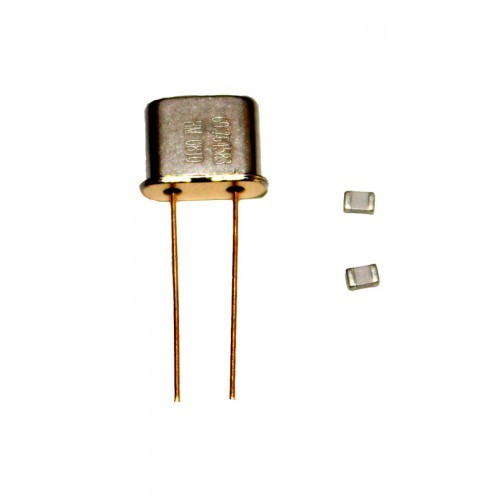 Quarz für Skyper mit SMD Kondensatoren