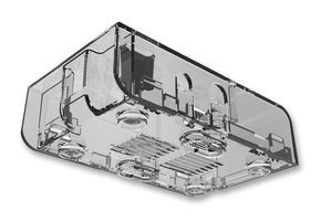 Multicomp Gehäuse für Raspberry Pi A/B, ABS, transparent
