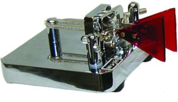 MFJ-564 Morsetaste (Paddle), chrom