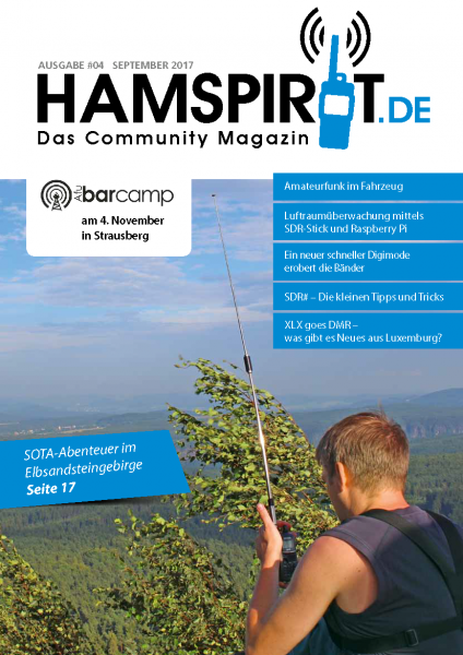 HAMSPIRIT #04 - Das Community-Magazin