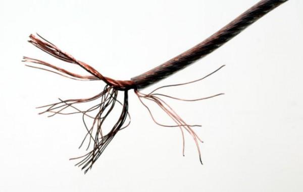 Kupfer-Antennenlitze 7x7x0,15 mm Cu Ø = 0,83 mm² Ø = 2,1 mm