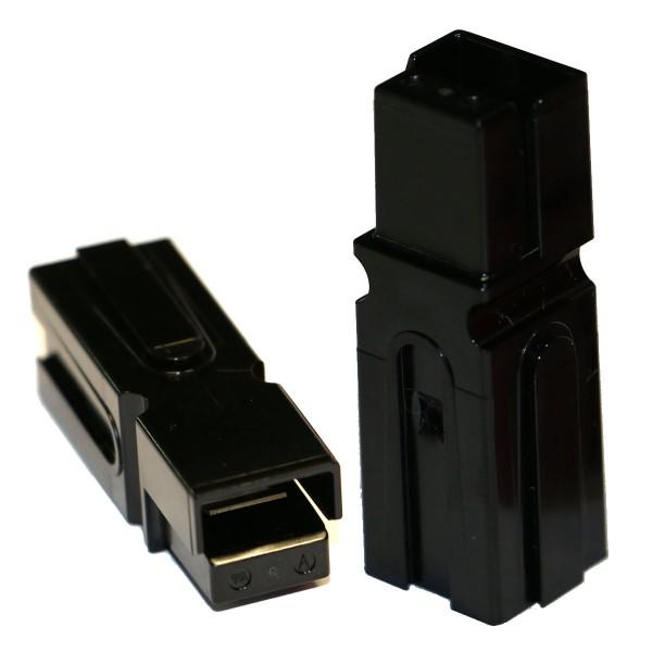 Anderson PowerPole® Serie PP75 Einzelgehäuse SCHWARZ