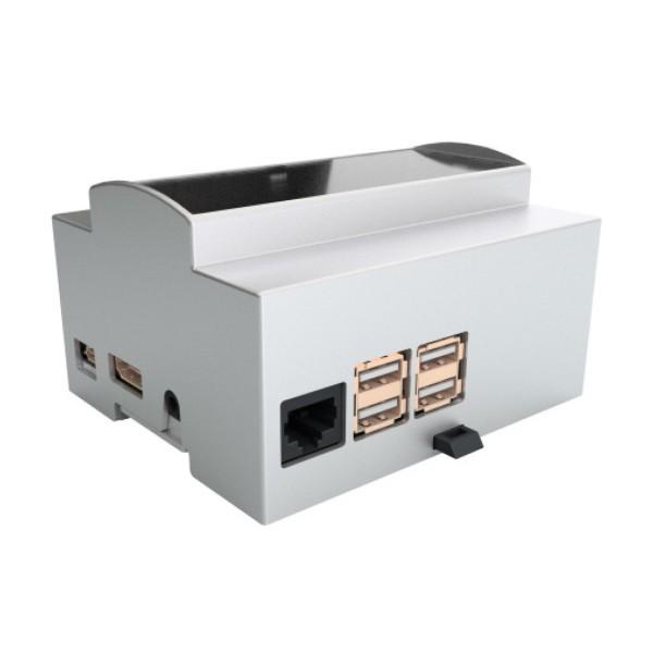 Hutschienengehäuse / DIN Rail KIT 6M XTS für Raspberry Pi 3