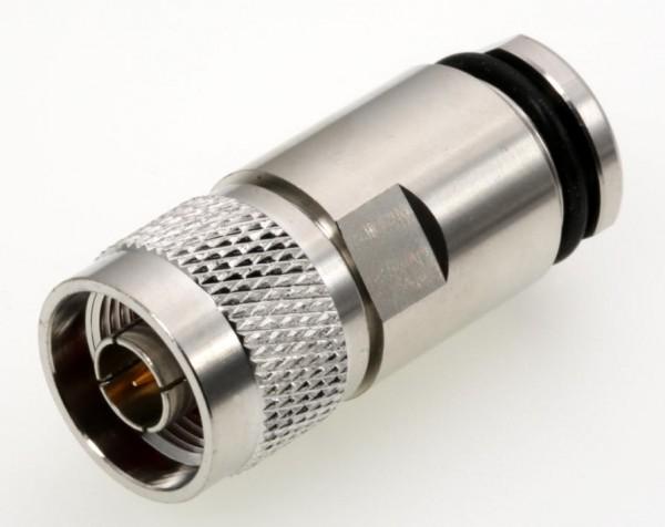 N-Stecker (lötfrei) für 10mm Ecoflex, Aircom u.a.