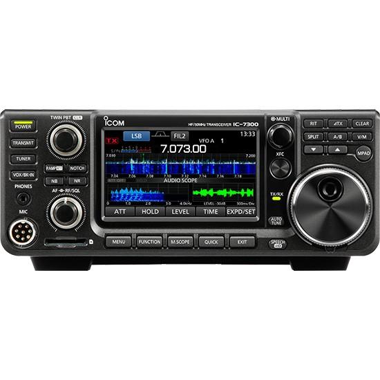 Icom IC-7300 SDR Transceiver inkl. 60m Band + gratis Displayschutzfolie