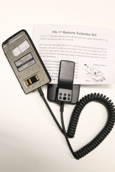 Yaesu Remote Extender PA-17