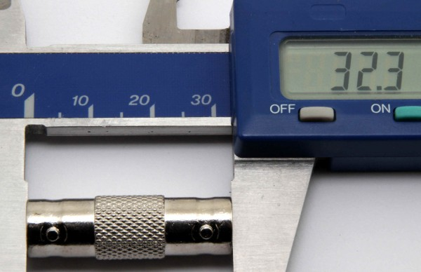 BNC-Verbinder / Adapter (BNC-Buchse / BNC-Buchse)