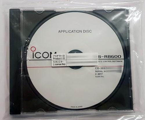 Icom RS-R8600 Fernsteuer Software für IC-R8600