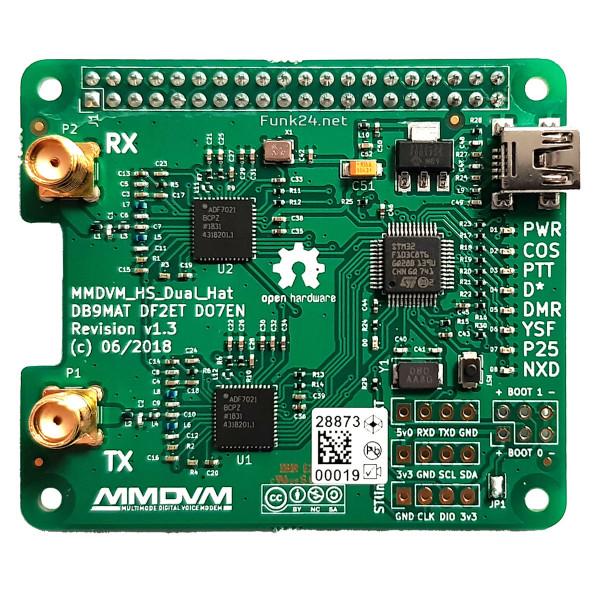 MMDVM_HS_Dual_Hat Duplex Hotspot für Raspberry Pi