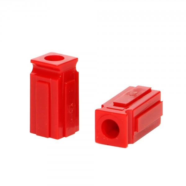 Anderson PowerPole® Abstandshalter / Spacer kurz mit Loch rot