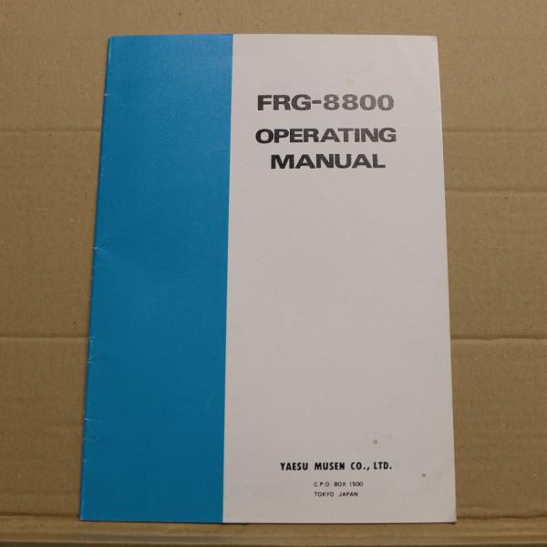 Yaesu FRG-8800 Operating Manual
