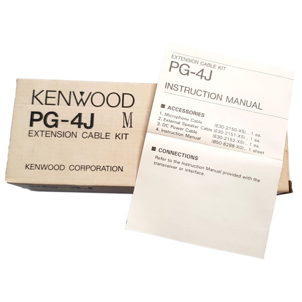 Kenwood PG-4J Extension Cable Kit